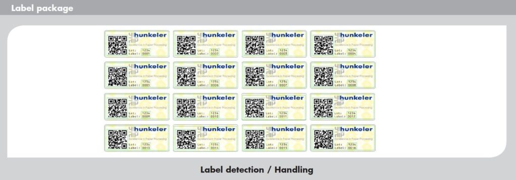 web inspection - labels verification