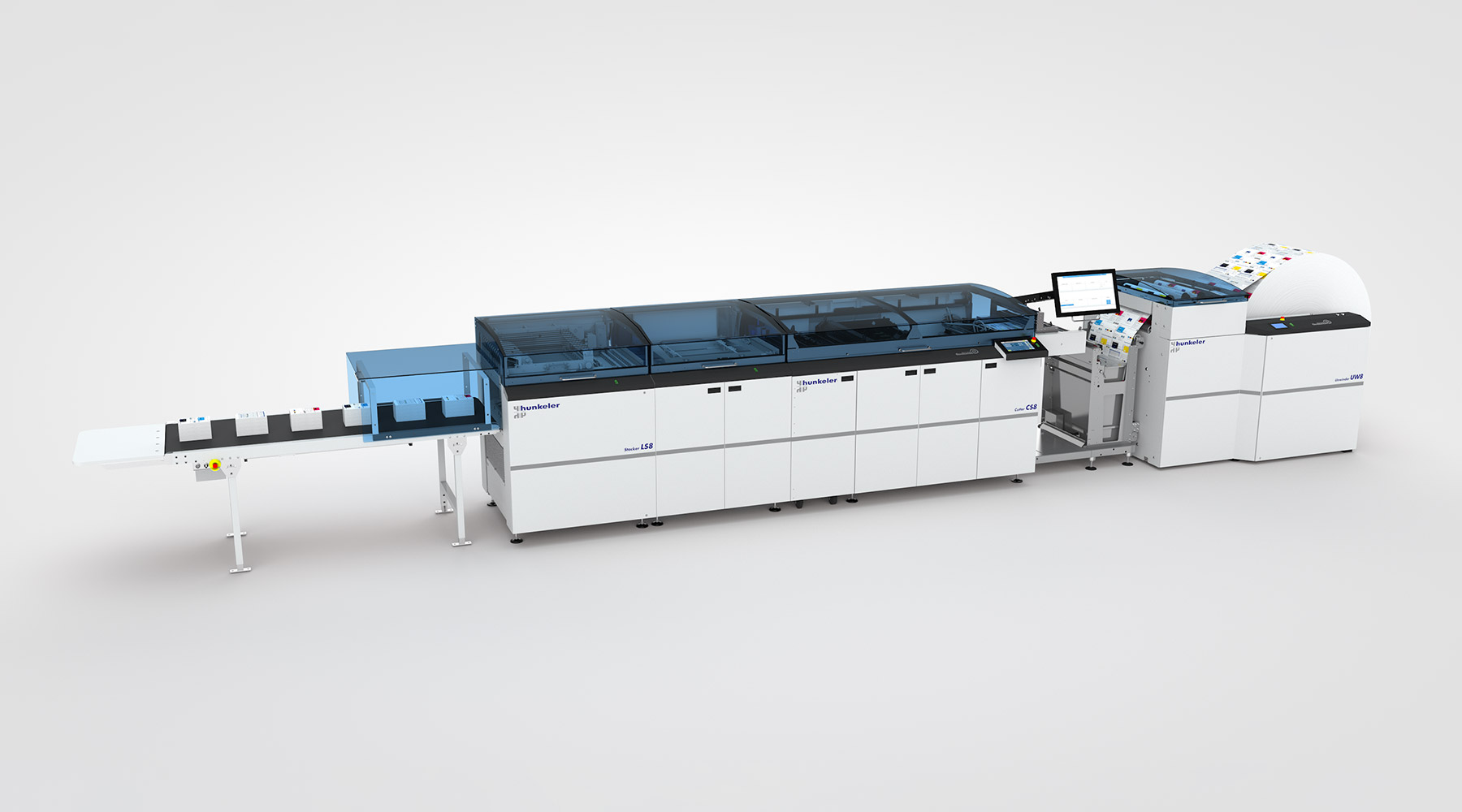 Roll to stack solution - Hunkeler AG Paper Processing