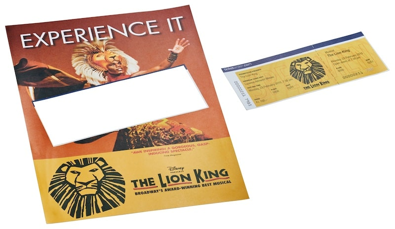 Direct Mail - Tickets